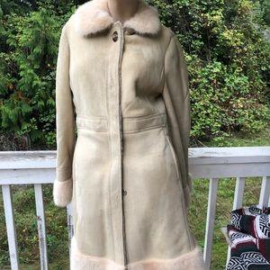 Jackets & Blazers - CoachMink Fur Lamb Shearling Coat